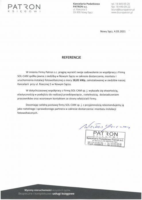 referencje Zajazd Krystyna
